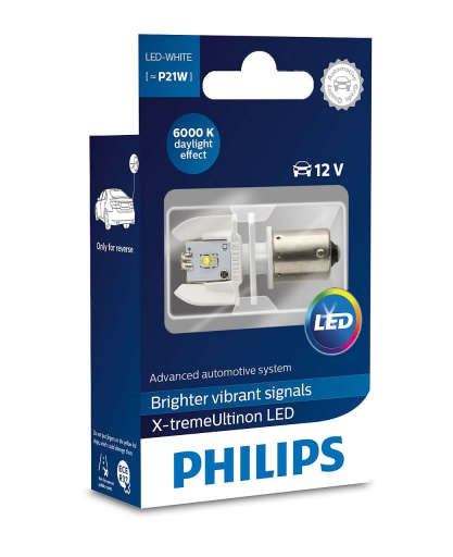 Лампа P21 Philips LED white 12898X1