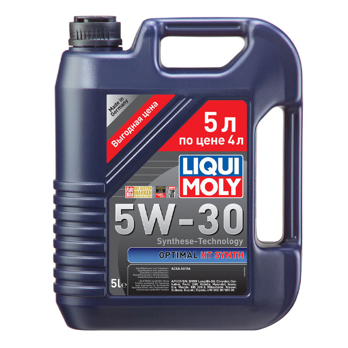 Масло моторное LIQUI MOLY OPTIMAL Synth 5W-30 5л 39010