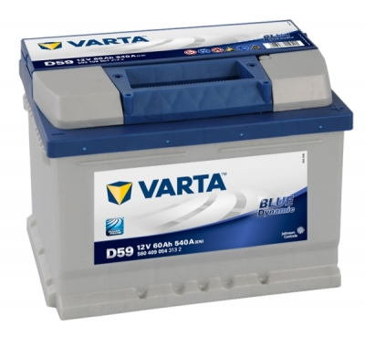 Аккумулятор VARTA Blue Dynamic 60Ah 540A обр.п 560409054
